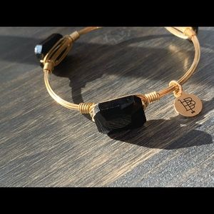New Bourbon and Bowties gold and black bangle!